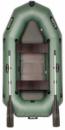 BARK 250D Двухместная гребная, двигающееся сидение, реечный настил