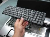 Замена клавиатуры ноутбукоа
