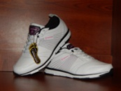 Женские белые кожаные кроссовки Restime + Гарантия!