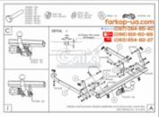 Тягово-сцепное устройство (фаркоп) Fiat Scudo (1996-2006)