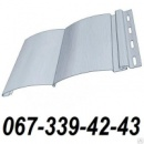 Сайдинг FineBer Торрея (Серый) (блокхаус, бревно) 0,85 м2