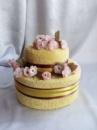 Торт из полотенец двухярусный №6