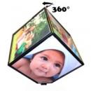 Вращающаяся фоторамка Волшебный куб