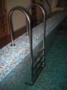 Лестница Muro 5-тиступенчатая для бассейна, причала купели из нержавеющей стали