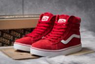 Зимние кроссовки  на меху Vans Old School Winter, красные (30723) размеры в наличии ► [  36 38 39  ]