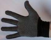 Перчатки молярные, стрейчевые с ПВХ точкой