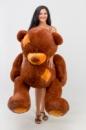 Плюшевый медведь Гриша 150см Коричневый