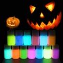 50 г Водный Светящийся Пигмент Порошок DIY Флуоресцентная Краска Светящиеся Акриловые Краски Светятся в Темноте Живопись