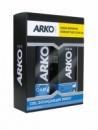Подарочный набор ARKO (пена для бритья Cool 200 мл+крем после бритья Cool 50 мл)