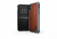 Чехол iPhone X X-Doria Defense Lux Wood (AL1405)