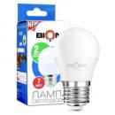 Светодиодная лампа Biom BT-563 G45 7W E27 3000К (теплый) матовая