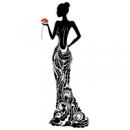 Наклейка Декоративная Lady