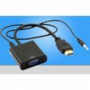 Конвертер с HDMI на VGA+AUDIO (3,5)