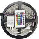 Лента светодиодная Dellta RGB 3528 5 метров + контроллер + пульт + блок питания