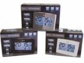 Домашняя метеостанция - Часы Будильник Tech Line DC-59-DCF Германия (Новый сток)