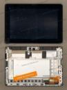 Матрица (экран) с тачскрином для планшета Asus ME301