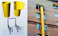 Мусоропровод строительный (рукав для сброса строительного мусора)