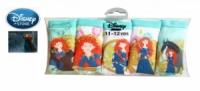 Трусики для девочек шортиками хлопок «Принцесса Мерида» упаковка 5 шт., бренд «Disney»