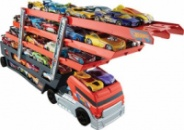 Hot Wheels Mega Hauler, 6-ти уровневый автовоз Хот вилс на 50 машинок