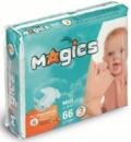 Подгузники Magics midi 3 (4-9 кг) 66шт