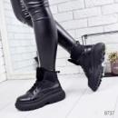 Ботинки женски Tadeo черный