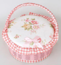 Шкатулка для рукоделия «Мастерица Pink Cart», 23.5х23.5х12см
