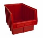 Ящики для метизов пластиковые красные Арт. 700 К/лоток для крепежа,стеллажи для крепежа,контейнер для метизов