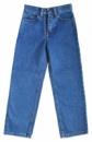 Джинсы для мальчиков (детские, подростковые) синие классические, бренд Mancini