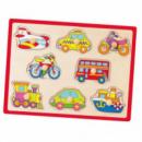 Пазл-вкладыш «Транспорт» Viga toys (50016)