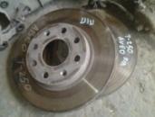Тормозной диск на Шевроле Авео Лачетти б/у