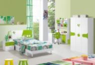 Набор мебели для детской комнаты Принц (кровать 1,5 м + тумбочка + стол + стул + шкаф)