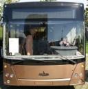 Лобовое стекло для автобусов  МАЗ MAZ 206 в Никополе