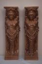 Греческая Нимфа - керамика для облицовки камина и печи