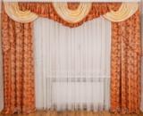 Комплект штор и ламбрекен для зала «Тиффани»