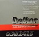 Аккумулятор Delkor 65B24LS 52Aч азия