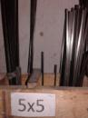 шпонка 5х5, шпоночна сталь 5х5, шпонковий матеріал 5х5