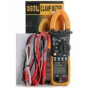 Professional HYELEC MS2008B Digital AC Ampere Meter / AC DC Voltage Clamp Metro - YELLOW AND BLACK