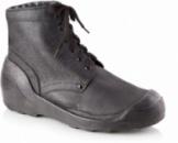 Ботинки из натуральной кожи с берцами
