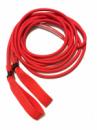 Эспандер для лыжника, боксера, пловца и фитнеса с ручками 10 мм, красный, 7 метров