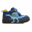 Ботинки Спинозавр синие