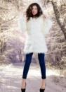 Шуба с капюшоном «Снежная Королева»