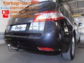 Тягово-сцепное устройство (фаркоп) Peugeot 508 (universal) (2011-2018)