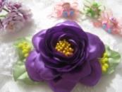 повязка для малышки фиолетовая