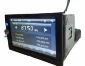 Автомагнитола 2Din 7023 GPS 7« Bluetooth. Пульт на руль. Магнитола 7023 с GPS и Bluetooth