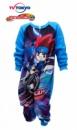 Сдельная пижама (слип, человечек, пижама-комбинезон) теплая на микрофлисе, бренд «Beyblade»