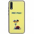 TPU+PC чехол ForFun для Samsung Galaxy A70 (A705F) Привет уродец / Желтый