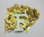 Конфетти для воздушных шаров мишура золото 50 грамм