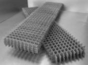 Сетка армопояс (для кладки) 2х0,4м ячейка 10х12см d 3мм