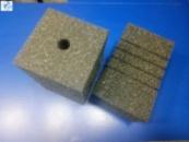 Губка рельефная крупнопористая 9*9*15 см