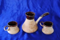 Кофейный набор турка и чашки